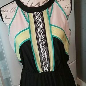 STUDIO Y maxi dress size Large